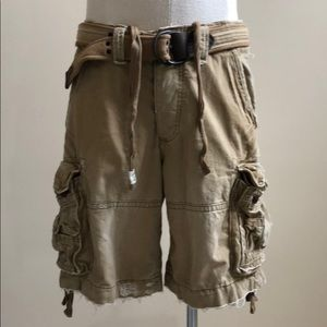 Vintage Abercrombie & Fitch cargo shorts.